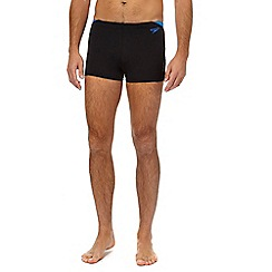 Speedo - Black and blue swim shorts