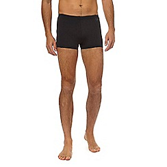 Speedo - Black and grey swim shorts
