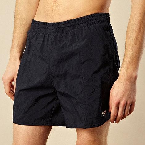 Speedo - Navy blue swim shorts
