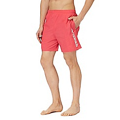 Speedo - Pink logo print swim shorts