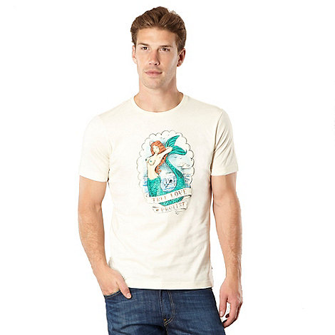 Protest - Off white mermaid printed t-shirt