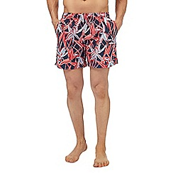 Gant - Pink printed swim shorts