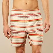 Off white zig zag printed swim shorts