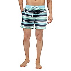 Gant - Blue striped swim shorts