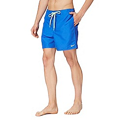 Nike - Blue logo swim shorts