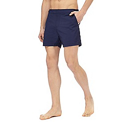 Red Herring - Navy tailored swim shorts
