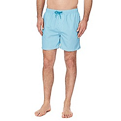 Red Herring - Turquoise striped swim short