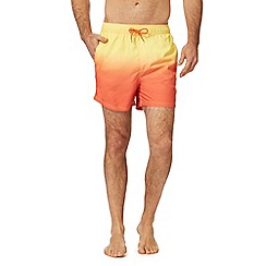 Red Herring - Yellow and orange dip dye swim shorts
