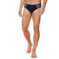 J by Jasper Conran - Big and tall navy swim briefs