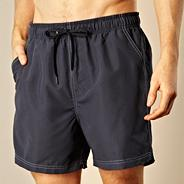 Navy essential swim shorts