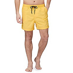 Maine New England - Yellow basic swim shorts