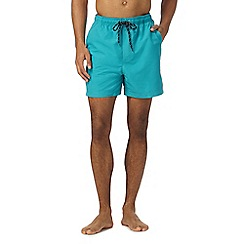 Maine New England - Dark turquoise swim shorts