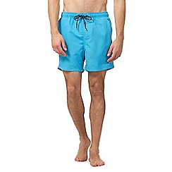 Maine New England - Big and tall blue basic swim shorts