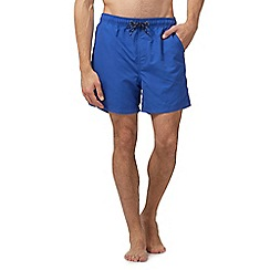 Maine New England - Big and tall mid-blue basic swim shorts