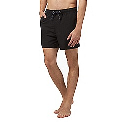 Maine New England - Big and tall black basic swim shorts