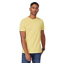 Maine New England - Yellow crew neck t-shirt