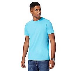 Maine New England - Big and tall light blue crew neck t-shirt