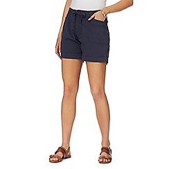 Weird Fish - Navy utility shorts