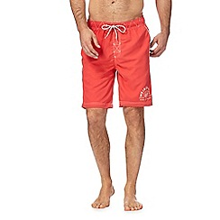 Weird Fish - Red logo swim shorts