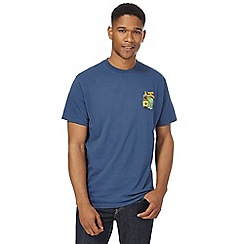 Weird Fish - Big and tall blue printed t-shirt