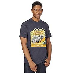 Weird Fish - Big and tall navy printed t-shirt
