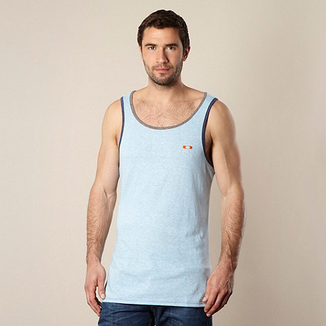 Oakley - Light blue plain marl vest