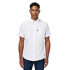 Ben Sherman - Big and tall white oxford shirt