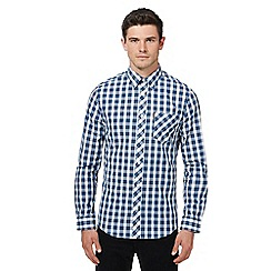 Ben Sherman - Blue checked shirt