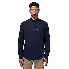 Ben Sherman - Big and tall navy oxford shirt