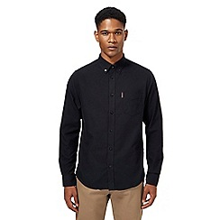 Ben Sherman - Big and tall black oxford shirt