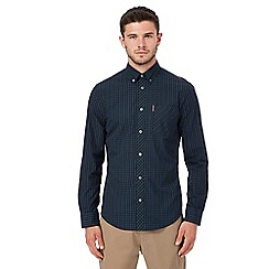 Ben Sherman - Green and blue checked shirt