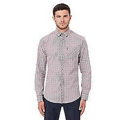 Ben Sherman - Big and tall multi-coloured checked shirt