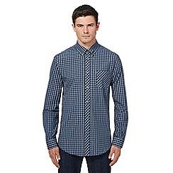 Ben Sherman - Big and tall blue checked shirt