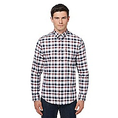 Ben Sherman - Big and tall multi-coloured checked oxford shirt