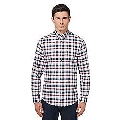 Ben Sherman - Multi-coloured checked Oxford shirt