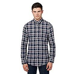 Ben Sherman - Big and tall multi-coloured herringbone checked shirt