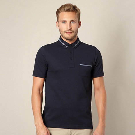 Fred Perry - Navy pique polo shirt