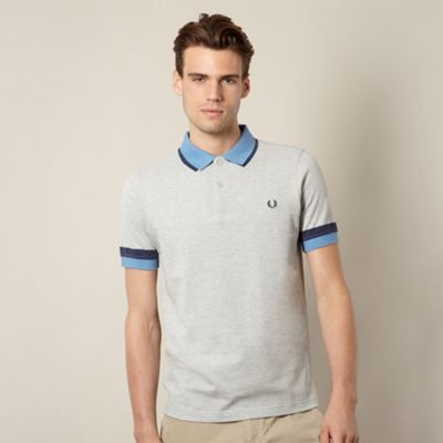 Fred Perry grey polo shirt