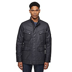 Ben Sherman - Big and tall navy four pocket jacket