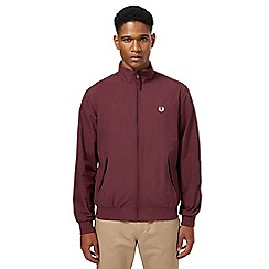 Fred Perry - Dark red 'Brentham' jacket
