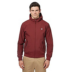 Fred Perry - Red hooded 'Brentham' jacket