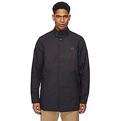 Fred Perry - Black bonded mac