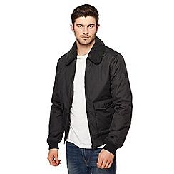 Threadbare - Black 'Camden' bomber jacket