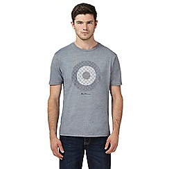 Ben Sherman - Big and tall grey target print t-shirt