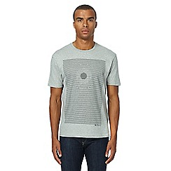 Ben Sherman - Big and tall grey graphic print t-shirt