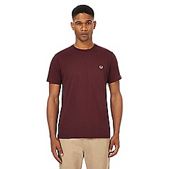 Fred Perry - Maroon crew t-shirt