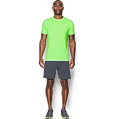 Under Armour - Yellow 'Threadborne ' streaker running t-shirt