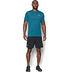 Under Armour - Blue 'Threadborne ' streaker running t-shirt