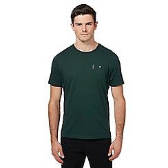 Ben Sherman - Big and tall green chest pocket t-shirt