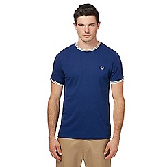 Fred Perry - Navy tipped t-shirt